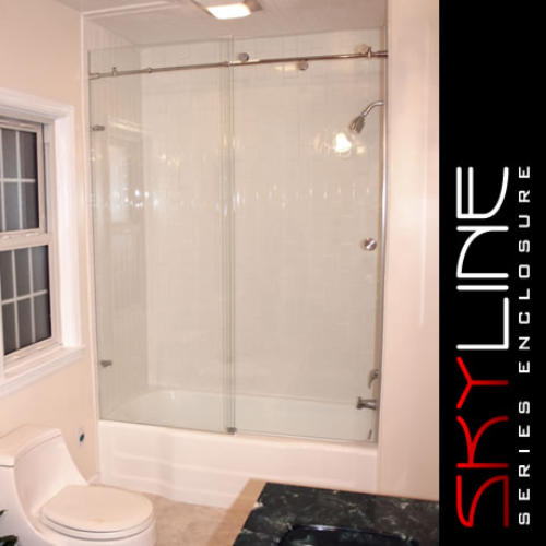 Shower Doors That Help Keep Water Inside A Shower Or Bathtub And Are  Alternatives To Shower Curtains. They Are Available In Many Different  Styles Such As ...